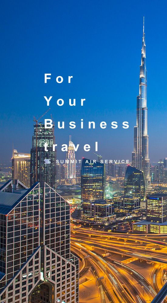 For Your Business travel